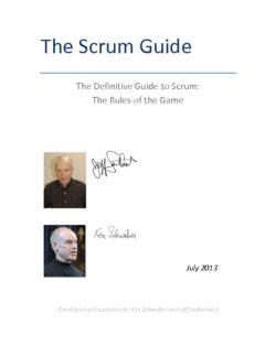 Scrum Guide 2013 EN