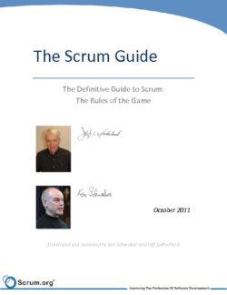 Scrum Guide Oct 2011