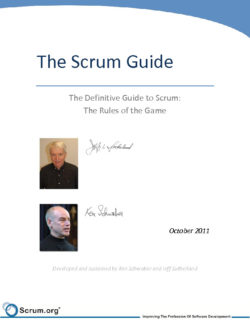 Scrum Guide Oct 2011