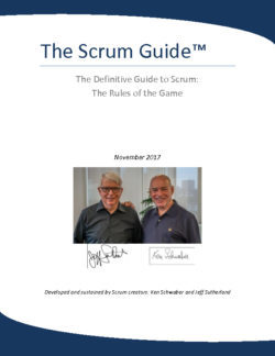 Scrum Guide 2017 EN