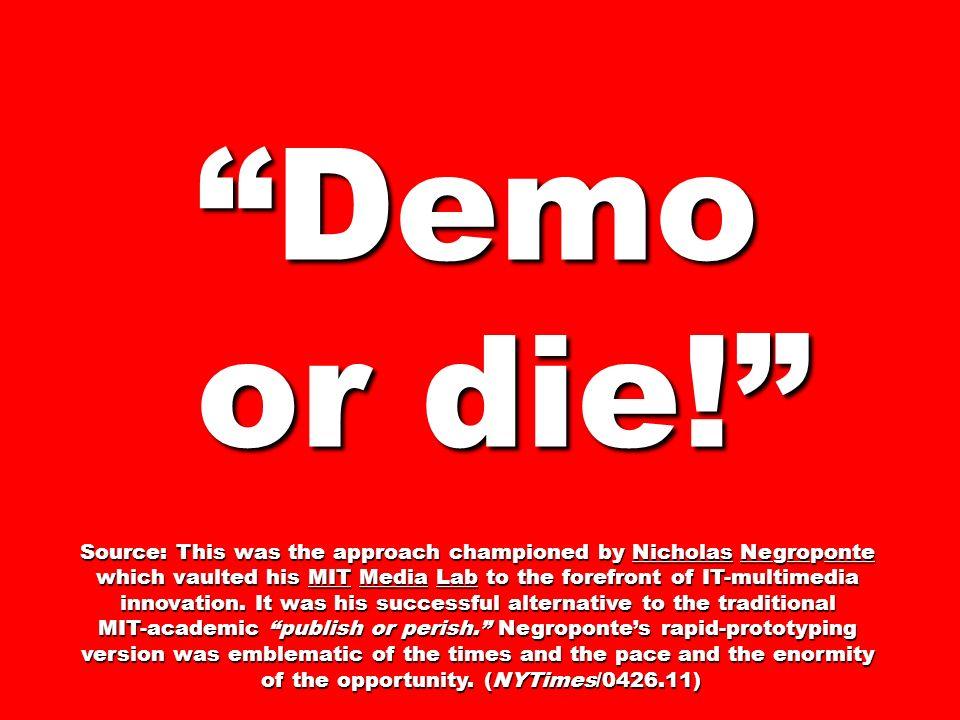 Sprint Review demo or die