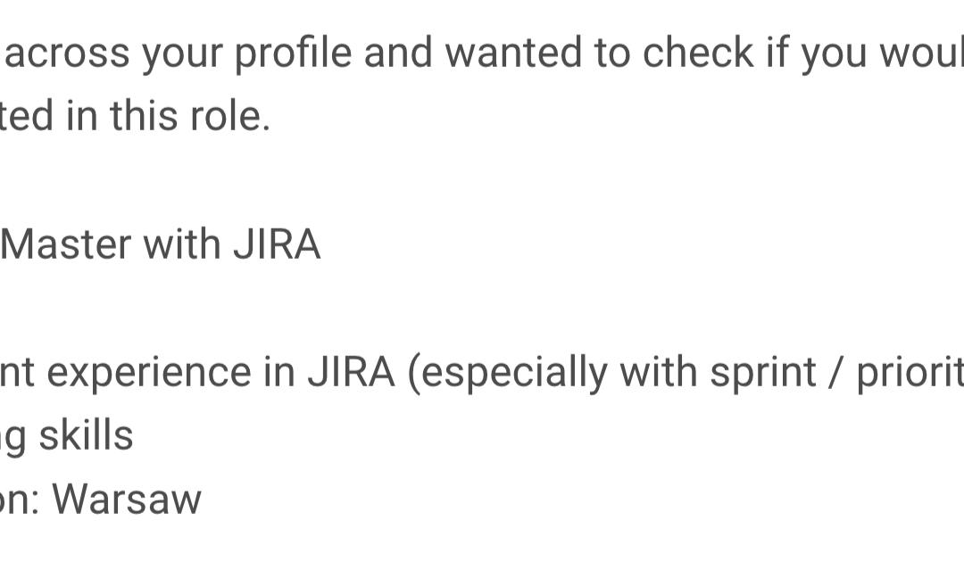 Jak zabić Agile przy użyciu Jira? #3