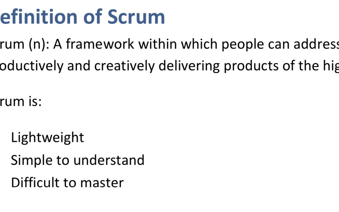 Metodyka Scrum