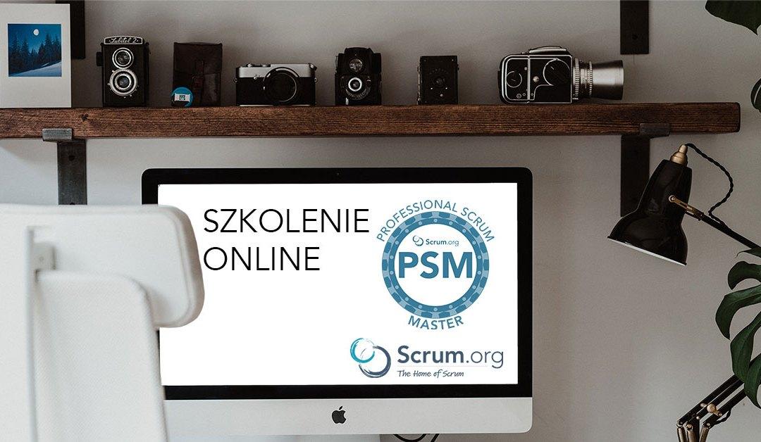 Szkolenie Professional Scrum Master Online zanami