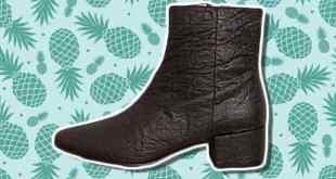 أحدث الابتكارات.. أحذية نباتية مصنوعة من الاناناس