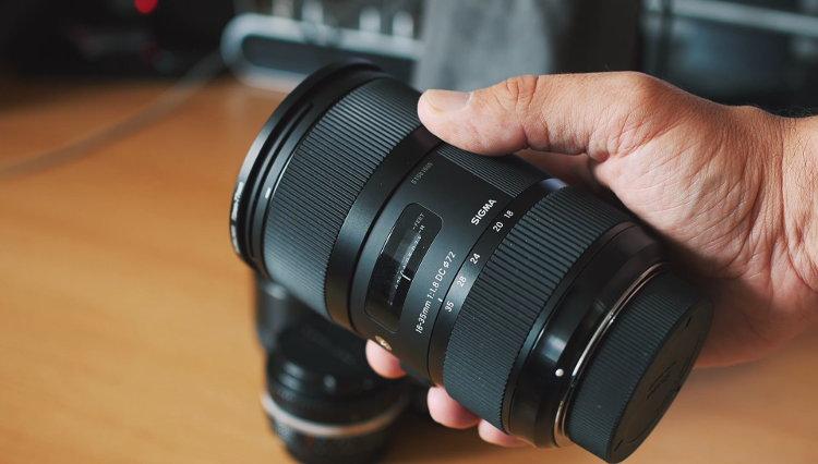 festbrennweite oder zoom - sigma 18-35mm 1.8