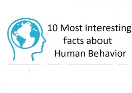 What are the most interesting facts about human behavior?