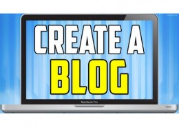 How to create a blog?