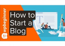 What are tips to start a blog?