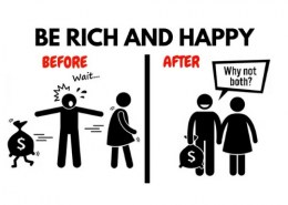 How a poor person can become rich?