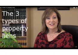 What are the 3 types of property?