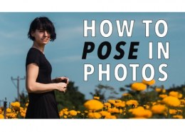 What are some tips on how to pose for a picture?