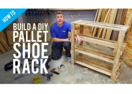 Can we make a shoe rack in the basement of the house?