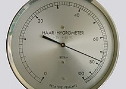 What was the name of the instrument that is used to measure Relative Humidity?