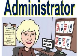 What does an admin department do?