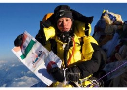 Was the first woman to climb Mount Everest twice?