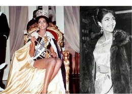 Who is the first lady to become miss world?