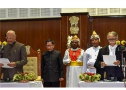 Who was sworn in as the 18th Governor of Tripura?
