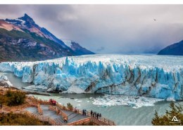 Which are The largest glaciers ?
