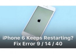 How to troubleshoot my iPhone 6?