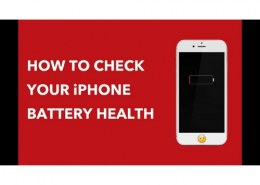 How can I test my iPhone battery?