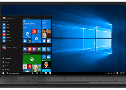 What is the name of the browser that provided with the latest versions of Windows 10?