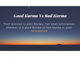 what is good and bad karma?
