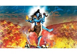 How did Lord Shiva died?