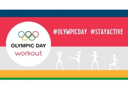Who all will be the part of virtual workouts on Olympic Day 2020?
