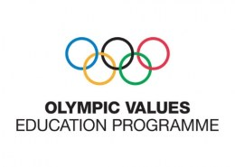 What are the Olympic values?