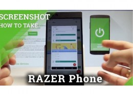 Can you screen record on Razer Phone 2?