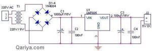 5 volt power