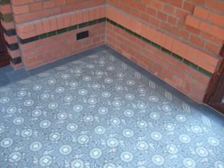 Wintergarten - VIA Zementmosaikplatten