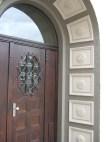 Fratzen, fantastisches Türensemble