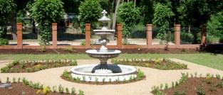 Garten, Brunnenanlage - Flaniersicht
