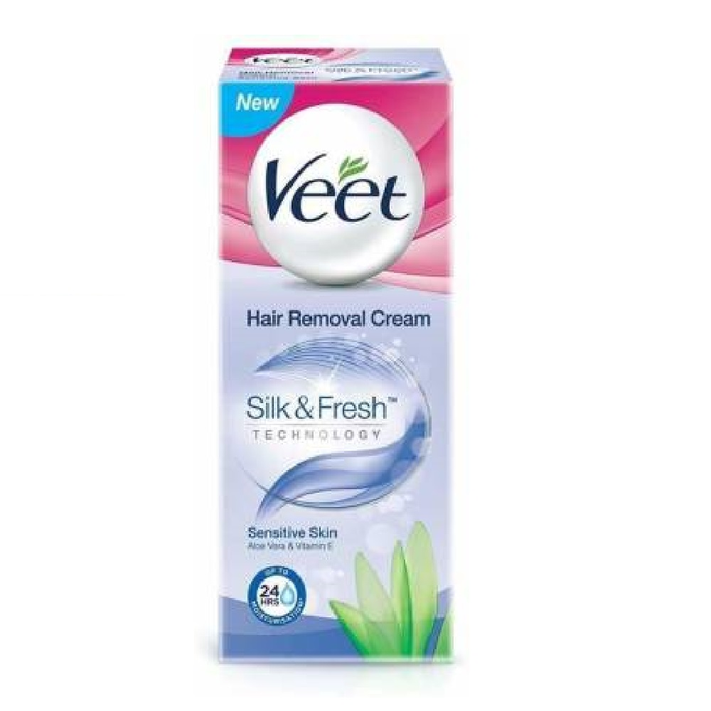 Veet Silk Fresh Hair Removal Cream 100 Ml Qas Shop Grocery