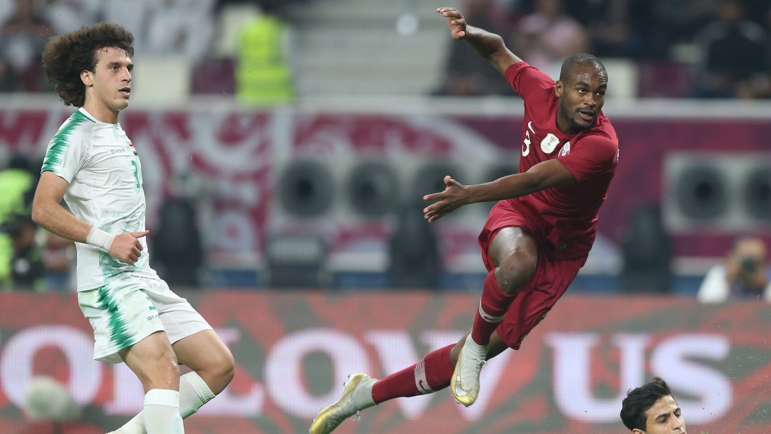 Qatar and Iraq in action
