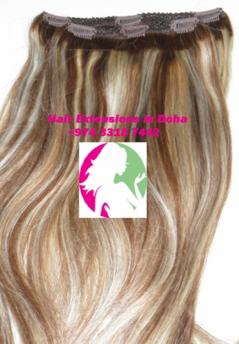 Qatar Collections Hair Extensions Clip Ins