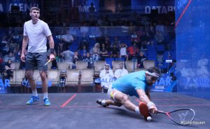 PSA Day Three Roundup : ElShorbagy brothers through