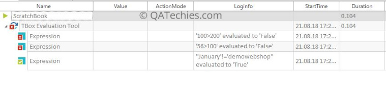 TBox Windows Operations & Expression Evaluation Modules