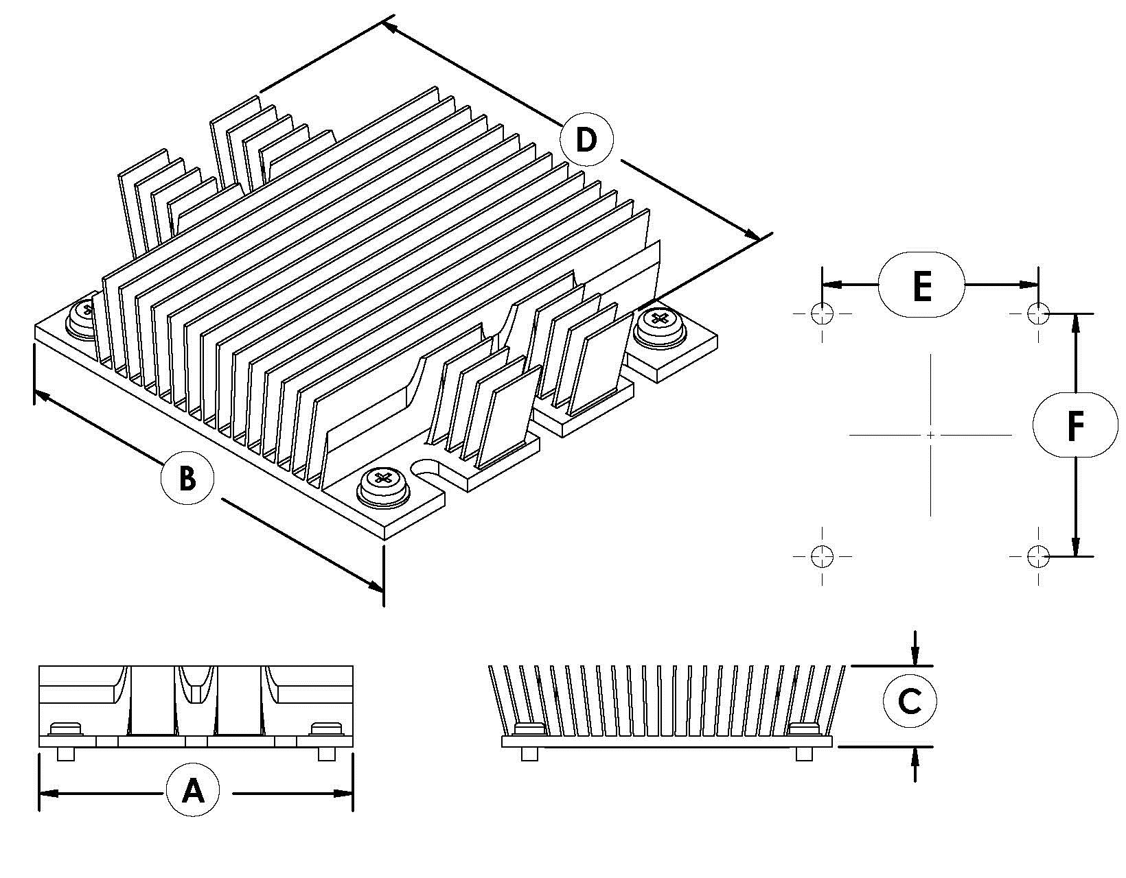 Ats C1 R0 58 0 X 61 0 X 22 9 Mm Maxiflow Power Brick