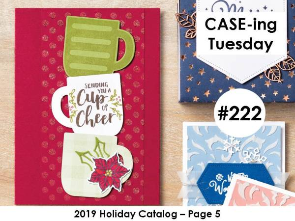 CASE-ing Tuesday Card #222