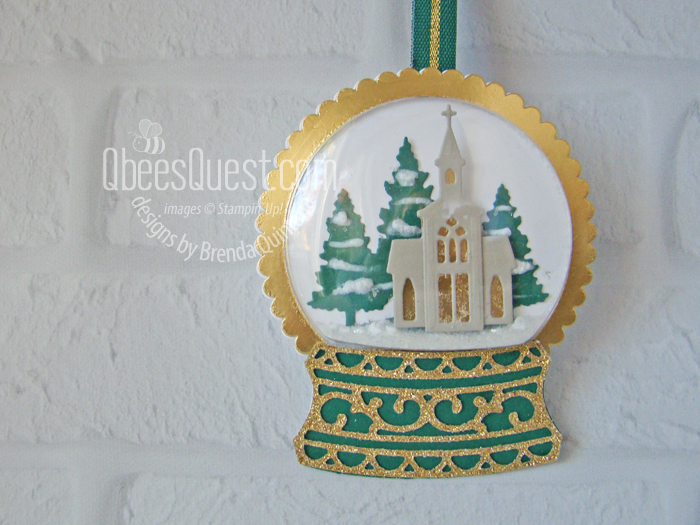Snow Globe Christmas Ornament