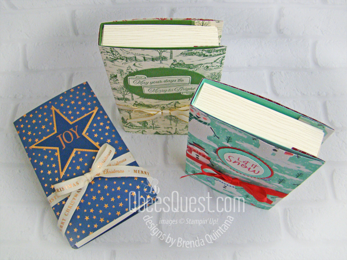 Faux Book Gift Boxes