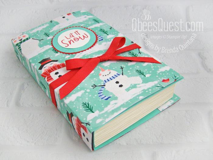 Faux Book Gift Box