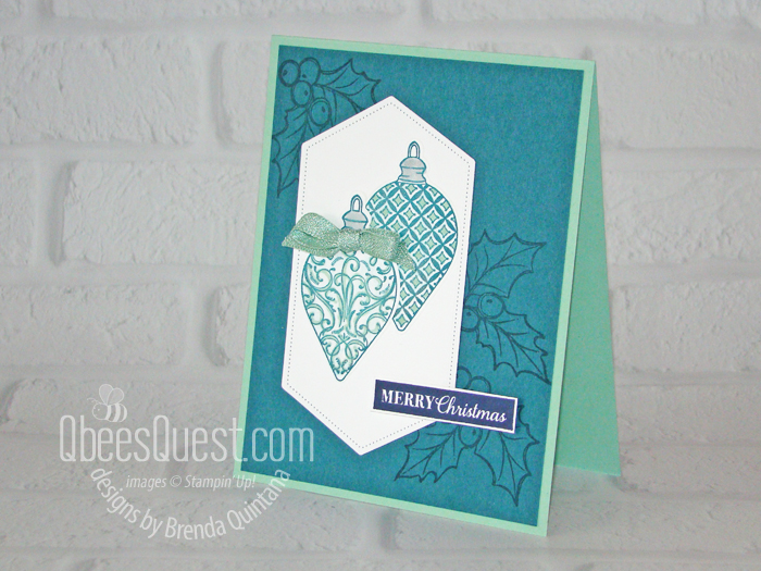Gleaming Ornaments Card