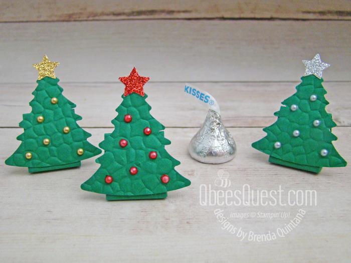 Hershey's Kiss Christmas Trees
