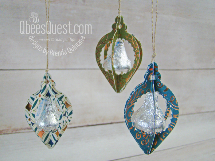 Hershey's Kiss Christmas Ornaments