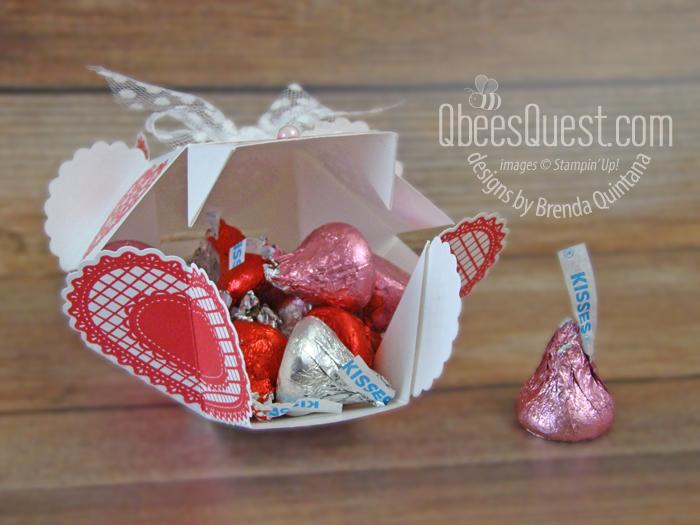 Clam Shell Heart Box (open)