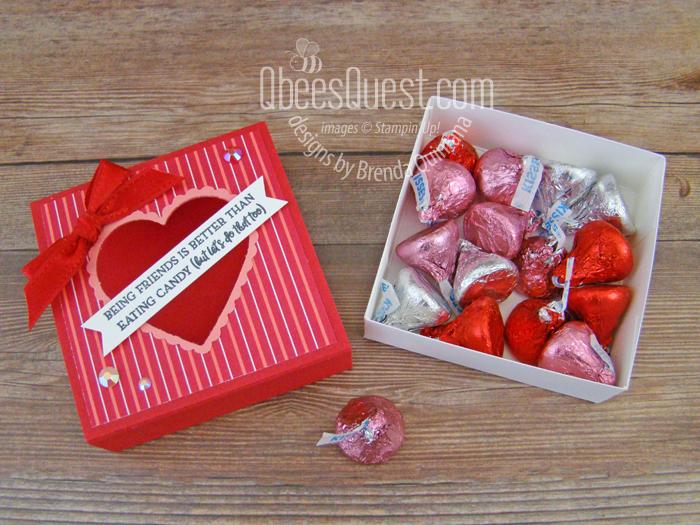 Valentine Slider Treat Box